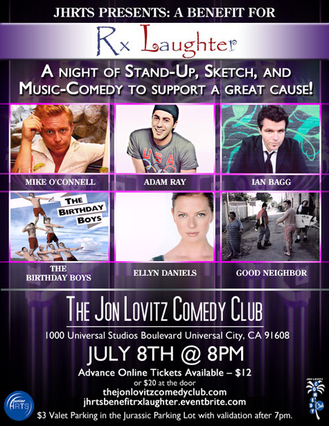 JHRTS Benefit for Rx Laughter