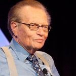 Larry King moderates the Unscripte Hitmakers luncheon at HRTS