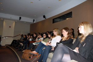 JHRTS New York members attend the Bob Tuschman panel event