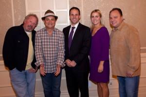 Thom Beers, Kevin Pollak, Josh Pyatt, Heather Olander, Jeff Apploff at the JHRTS Reality Power Players panel