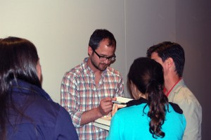 Josh Kilmer-Purcell signs autographs