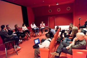 JHRTS International Television panel room shot