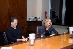Tony DiSanto and Liz Gateley at the JHRTS NY event