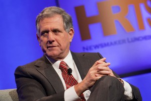"Leslie Moonves, featured guest at the HRTS Luncheon ""A Conversation with Leslie Moonves"""