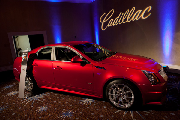 Cadillac, contributing sponsors for the annual HRTS State of the Industry luncheon