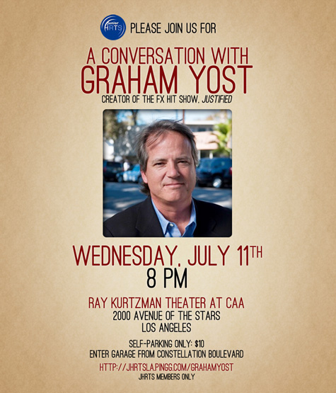 JHRTS LA Presents: A Conversation with Graham Yost