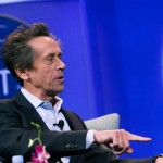 "Brian Grazer moderates ""A Conversation with Robert Iger"""