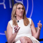 Nancy Dubuc at the 2013 HRTS Cable Chiefs luncheon