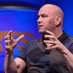 Dana White on the panel at the HRTS Non-Scripted Hitmakers luncheon
