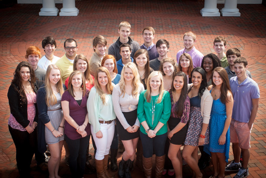 High Point University group shot