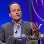 John Landgraf on the panel at the State of the Industry 2013 HRTS luncheon