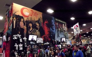 San Diego Comic Con 2015 - Outcast booth