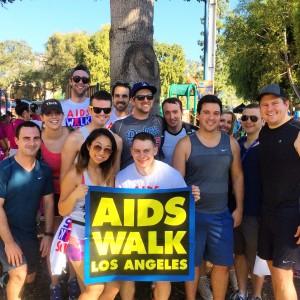JHRTS AIDS Walk LA 2015