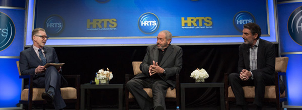 A Conversation with Chuck Lorre and Dick Wolf, Stage Shot